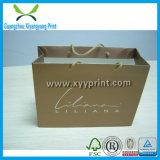 Bolsa de papel de color caqui de la impresión de encargo Murah para el regalo