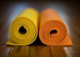 Rutschfeste Gummiyoga-Gymnastik-Matte für Teppich-Innenübung
