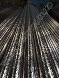Tubo de acero inoxidable del oro