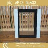 vidrio Tempered impreso pantalla de seda de 5m m/vidrio impreso rodado