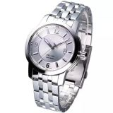 Klassische Edelstahl-Armband-Uhr