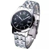 標準的なステンレス鋼のブレスレットの腕時計