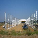 Magazzino della struttura d'acciaio per la fabbrica della Sudafrica
