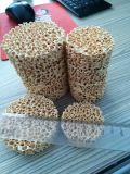Zirconia cerámica de la espuma del filtro poroso para la industria de fundición de acero