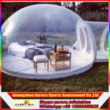 옥외 명확한 팽창식 잔디밭 천막 판매를 위한 팽창식 투명한 거품 천막