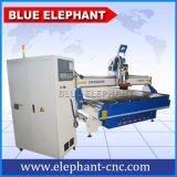 Atc машины маршрутизатора CNC поставщика Ele 2140 Китая для древесины высекая 3D гравировку, деревянная дверь, деревянная мебель, шкаф