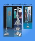 Pubblicità della base telescopica di alluminio dell'acqua del palo di bandierina