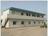 Stahlrahmen-Zwischenlage-Panel-vorfabriziertes Haus mit flachem Dach