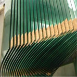 Het verstrekken van de Grote/Ronde Koffietafel die van de Kunst Douane Aangemaakt Glas berijpen