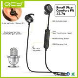 Qcy Qy19は耳のBluetoothの無線ヘッドセットのステレオのヘッドホーンを防水する