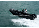 Aqualand 21.5feet 6.4m Rib Patrouillenboot/Fiberglass Rigid Inflatable Boat (RIB640T)