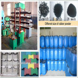 Reclaimed Rubber Sheet에 2016 최고 Technology Reclaimed Rubber Sheet Making Refiner From Waste Tyre