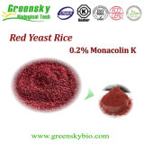 0.2% Monacolin K, de Rode Gist van de Rijst