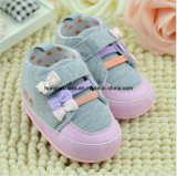 Chaussures inférieures molles d'enfant en bas âge de bébé de bébé
