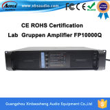 セリウムRoHSとの専門のPower Audio Amplifier Fp10000qおよびFp14000