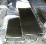 Pipe rectangulaire soudée de l'acier inoxydable 316