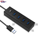 Interface USB 5 en 1 Interface pour cadeau promotionnel Hub USB3.0 à grande vitesse 4 ports