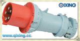 Conector industrial móvel com certificação CE (QX1237)