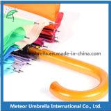 Guarda-chuva automático de madeira do arco-íris do parasol colorido extravagante do presente da promoção