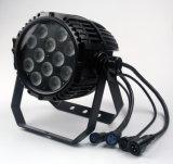 Stadiums-imprägniern heller Partei NENNWERT 47 12LEDs 8W RGBW 4in1 LED-Träger NENNWERT Licht
