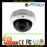 720p/960p/1080P Vandalproof Metal Dome IP Camera