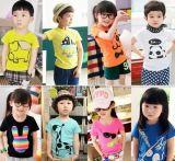 Maglietta del cotone dei 2016 bambini di modo