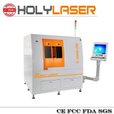 Máquina de estaca de alta velocidade modelo segura Closed do laser da fibra com motor linear