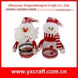 Décoration de bonhommes de neige de Noël de la décoration de Noël (ZY14Y31-1-2)