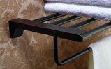 Alta calidad Hotel Style barra de latón plateado de toallas en Orbe