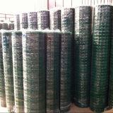"""PVC покрыл гальванизированную сваренную сталью ячеистую сеть, 1 размер сетки X1, 84.6% открытой местности, 5/64 """" диаметров провода"""
