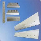 Faca de papel da guilhotina feita do HSS, do Tct e dos materiais etc.