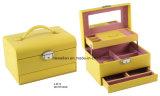 Heller Arbeitswegtrinket-Schönheits-Schmucksache-Kasten-kosmetischer Kasten-Schmucksache-Kasten