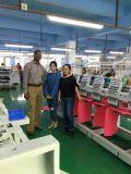 Operación computarizada y 8 cabezas no máquina de bordar de Tajima