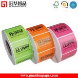熱Transfer Printing Label Barcode LabelかPrinted Label