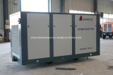 디젤 엔진 드라이브 휴대용 두 배 나사 공기에 의하여 냉각되는 압축기