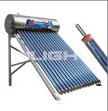Staniless Stahl Heat Pipe Solarwarmwasserbereiter