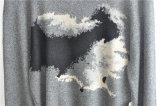 Il manicotto lungo all'ingrosso ha modellato i maglioni lavorati a maglia degli uomini