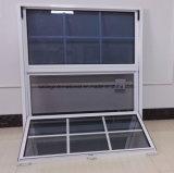 Janela de alumínio - janela suspensa única