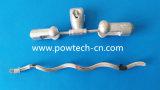Linha de transmissão tipo amortecedores dos acessórios 4D da ferragem da vibração de Stockbridge
