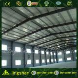 Magazzino prefabbricato della struttura d'acciaio di alto aumento di basso costo della Cina