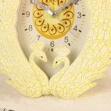 도매 아름다운 공작 작풍 자명종, 테이블 시계