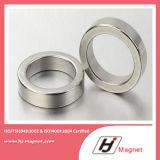 Anello del neodimio di potere eccellente N52 a magnete permanente per i motori