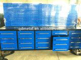 Nosotros caja de herramientas general con la caja de herramientas del aluminio del rodillo del metal de la rueda