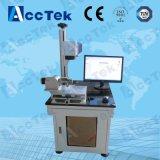 máquina rotatoria de la marca del laser de la fibra de la larga vida 20W