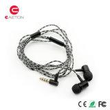 3.5mm 잭을%s 가진 도매 Mic Earbuds에 의하여 타전되는 이어폰