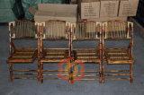 Стул венчания ротанга Горяч-Сбывания Bamboo складывая