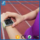 ナイキスポーツのAppleの腕時計42のための明るいゴム製時計バンド