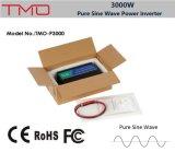 Indicador de diodo emissor de luz fora do inversor puro da potência de onda do seno da grade 3000watt/3kw