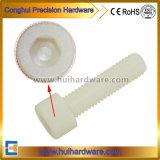 Parafuso de soquete Hex de nylon plástico principal M3-M8 do queijo