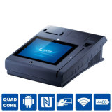 Printer 또는 WiFi/3G/NFC/Camera/Bt/Magcard 및 IC Card Reader를 가진 One Touch POS Terminal에 있는 10inch All